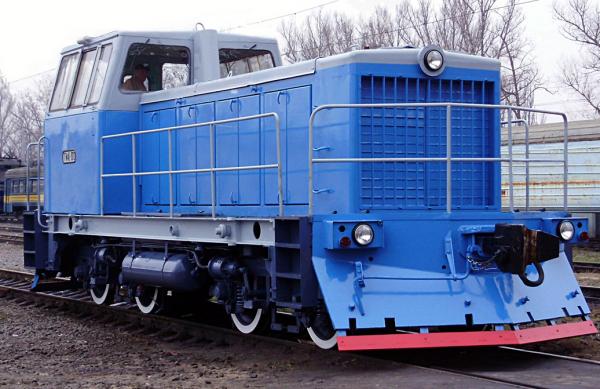 Маневровый тепловоз ТГМ 40
