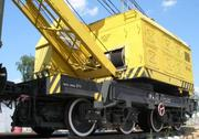 Кран железнодорожный. КЖ-561 (25 тонн)